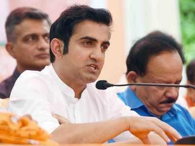 Gautam Gambhir hits back at Shahid Afridi over Kashmir remark