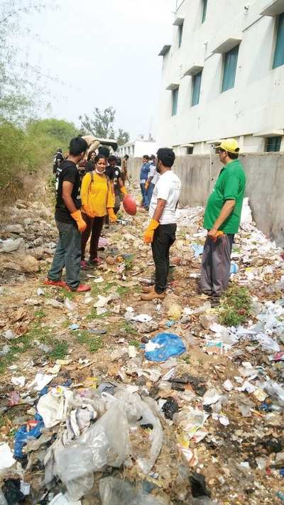 Disgusting secret spills out when volunteers clear up just 1.5 km of Bannerghatta National Park