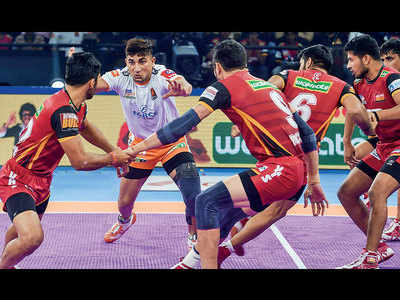 Puneri Paltan score 31-23 win against Bengaluru Bulls