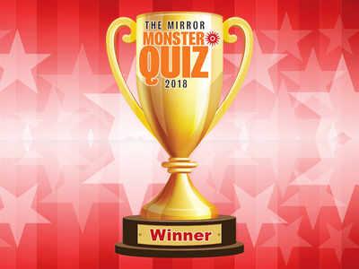 The Mirror Monster Quiz Winners