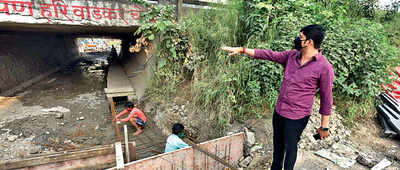 Residents of Baner claim PMC botched up road repair job