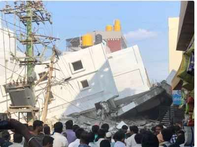 Bengaluru building crash: 3 killed, over 15 feared trapped under the debris in Kasavanahalli