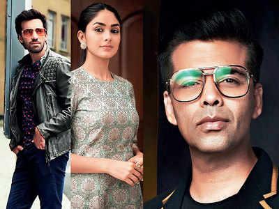 Avinash Tiwary, Mrunal Thakur set to headline Karan Johar's ghost story