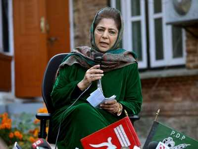 Will hoist tricolour once flag of erstwhile Jammu and Kashmir is restored: Mehbooba Mufti