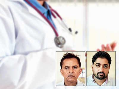 Father, son held for practising medicine without licence