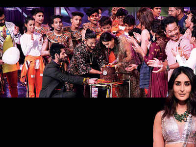 Kareena Kapoor gets a surprise on the sets of reality show