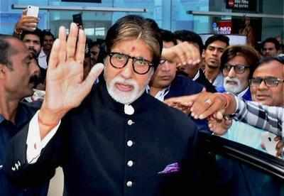 Amitabh Bachchan unwell, doctors rushed from Mumbai to Jodhpur