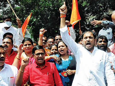 Shiv Sena is back to what it does best — protesting
