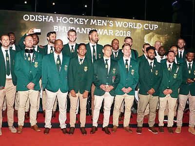 Hockey World Cup: South African players fund their own trip to India