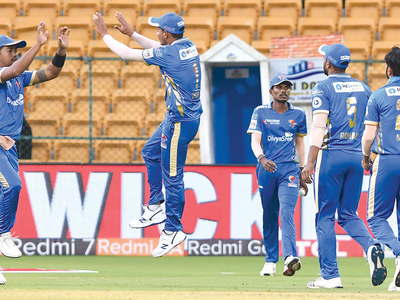 KPL 2019: Belagavi Panthers leave Bengaluru Blasters no place to hide