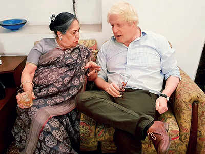 What UK PM Boris Johnson's Indian connection thinks of him