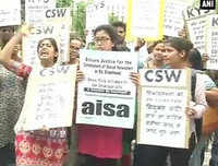 St Stephen's molestation row: Protest outside college campus