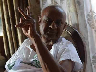Deve Gowda retracts 'mid-term polls' remark, says he meant local body polls, not Assembly polls