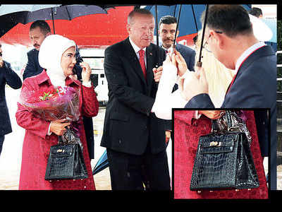 Turkish First Lady's $50,000 bag could pay 11people's annual salary