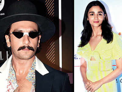 Alia Bhatt miffed with Ranveer Singh?