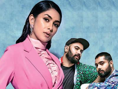 Keeping It Stylish: Mrunal Thakur's stylists decode her fashion statement