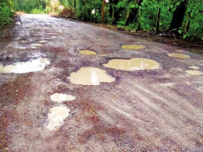 Rains destroy Aarey roads 'repaired' two months ago
