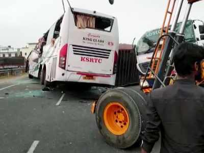 KSRTC bus accident: At least 20 killed as truck collides with bus near Coimbatore; PM Narendra Modi condoles death of deceased