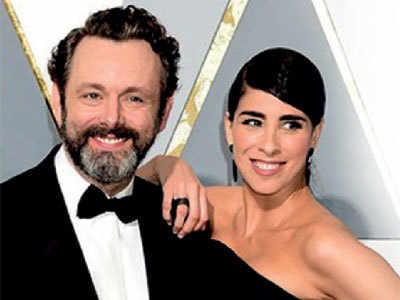 Sarah Silverman, Sheen 'consciously uncouple'