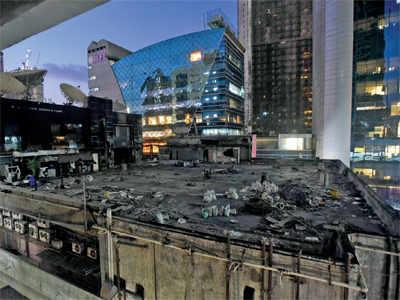 1Above toilet, where 14 died, razed; vital evidence destroyed