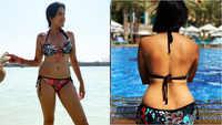 Kamya Panjabi posts bikini pictures, enjoys pool time in Dubai with beau