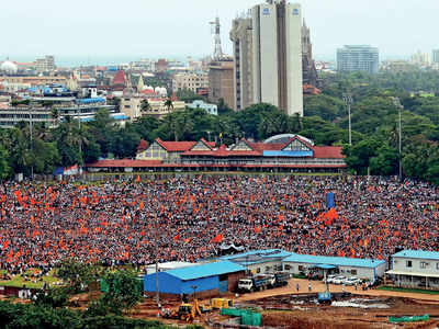 Azad Maidan, city's iconic nerve centre to stage all hues of protests and agitations, is fast shrinking