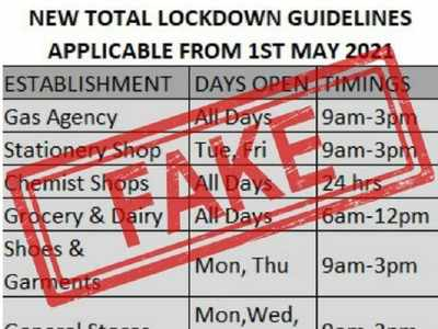 Mumbaikars, please note! This message of new lockdown guidelines is fake