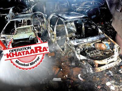 Operation Khataara: Khataaras burst into flames again — this time in Borivali