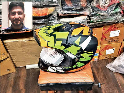 4 months after helmet theft, man gets cops to file case