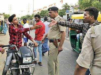 Meghaninagar police steps up drive against anti-social elements