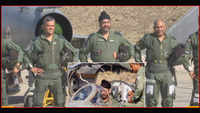 Watch: Air Chief Marshal flies MiG-21 to honour Kargil martyr