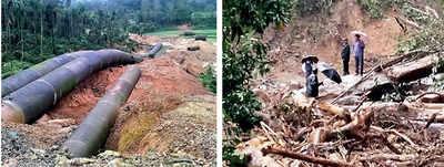 Karnataka: Rains, landslides leave Sakleshpur disoriented