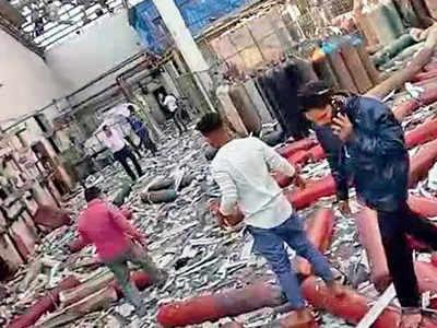 Blast in Vadodara co kills 6