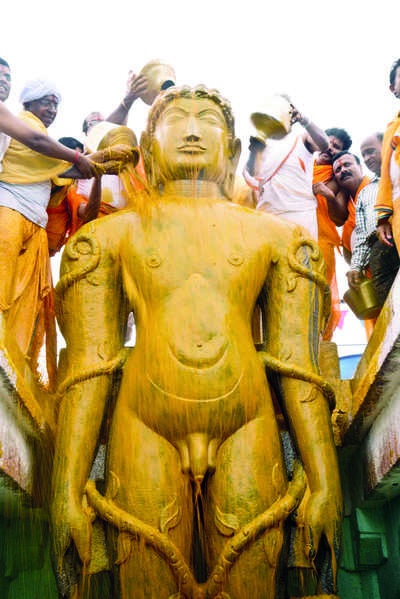 Karnataka: Shravanabelagola all set for grand ritual