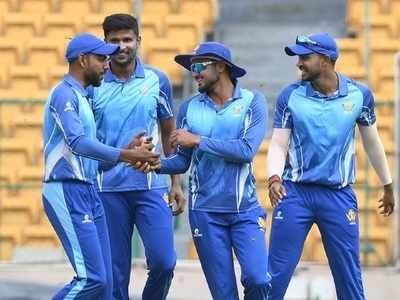 Karnataka pip Tamil Nadu by 1 run to defend Syed Mushtaq Ali title