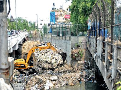 Residents team up to save Vrishabhavati