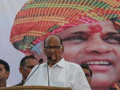 Don't chant my name; speak on economy, farmers: Sharad Pawar slams BJP