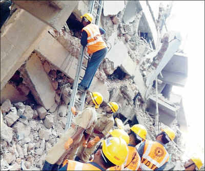Man behind goa collapse finished 5-flr ulwe tower in 6 months flat