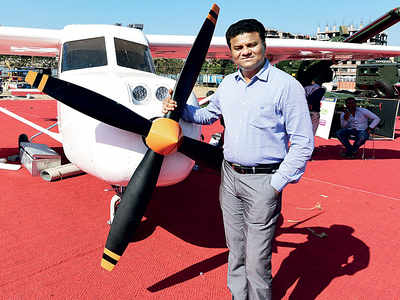 Man who built sixseater plane gets DGCA nod to fly