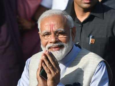 Some people feel that 'OM' and 'Cow' will take country back to 16th century: Modi takes dig at critics