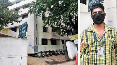 Short-staffed Dalvi Hospital is deploying inexperienced hands from the garden dept