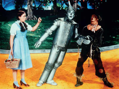Garland's Wizard of Oz slippers found