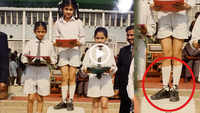 Taapsee Pannu shares adorable throwback picture in school uniform, Vicky Kaushal teases her