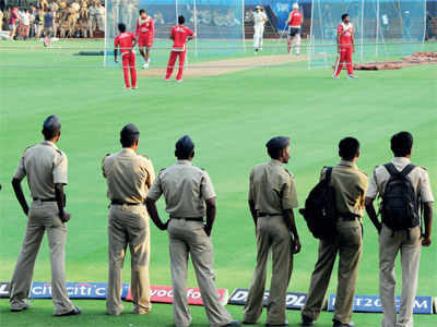 MCA owes cops Rs 13 cr for match security