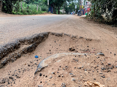 A moment's silence for Horamavu's bad roads