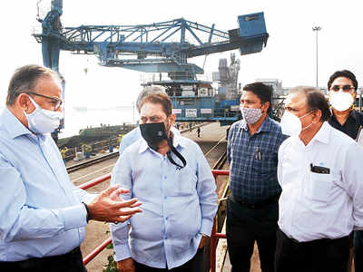 With an eye on future power usage, minister visits Tata Power plant