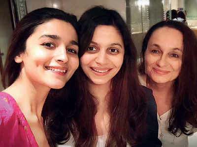 Alia Bhatt's sister Shaheen Bhatt takes off to London to study interior design
