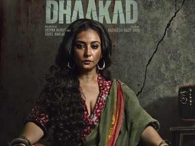Divya Dutta reveals her first look from Kangana Ranaut-starrer Dhaakad
