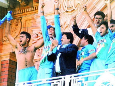 On this day in 2002: Sourav Ganguly celebrated in style as India won Natwest Trophy at Lord's