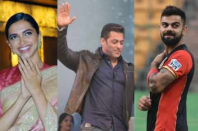 Deepika Padukone becomes first woman to feature in top 5 list of richest Indian celebrities; Salman Khan, Virat Kohli, Akshay Kumar occupy top positions